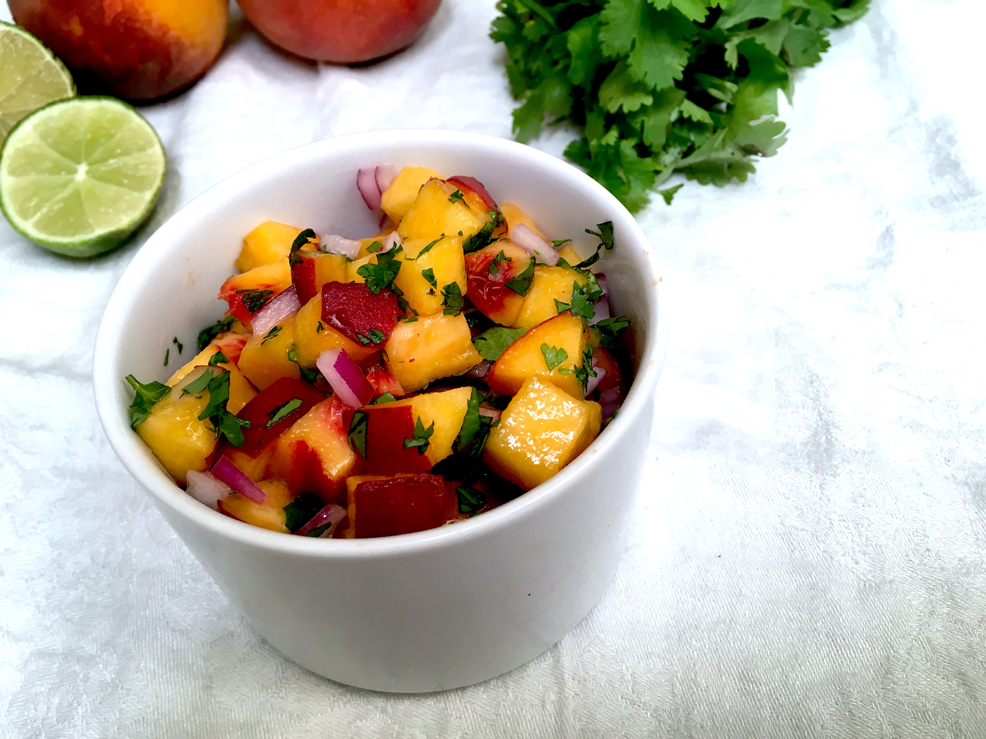 Habanero-Peach Salsa