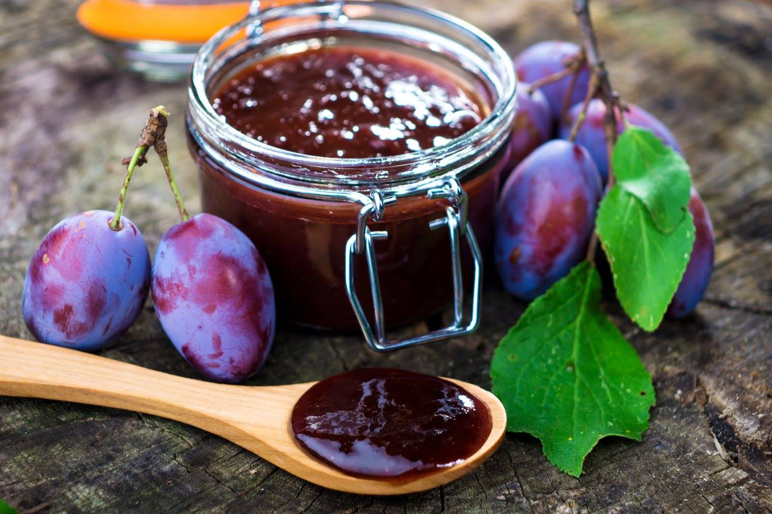 Foraged Plum Butter